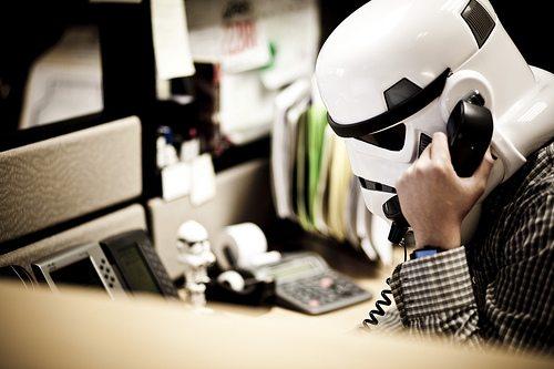 Aero Quartet employee in customer support tasks