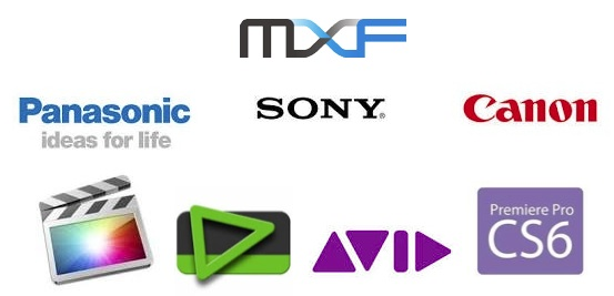 MXF support by video software and hardware vendors