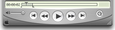 3 knobs interface, the QuickTime way